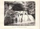 1887 - Gravure Sur Bois - Nans-sous-Sainte-Anne (Doubs) - Les Sources Du Lison - FRANCO DE PORT - Vieux Papiers