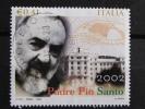 ITALIA USATI 2002 - CANONIZZAZIONE PADRE PIO DA PIETRALCINA - SASSONE 2631 - RIF. G 2143 - LUSSO - 6. 1946-.. Repubblica