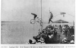 Photograph - Southport Pier - Prof. Powsey´s 52ft Dive On Rudge Whitworth Cycle, Lancashire. NCC - Luoghi