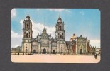 MEXICO - MEXIQUE - CATEDRAL DE MEXICO - CATHÉDRALE DE MEXICO - MINT STAMP - PAR EDITORIAL MEXICO - Mexique