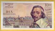 BILLET FRANCAIS - 10 NF Richelieu 7.4.1960 SPL - 1959-1966 ''Nouveaux Francs''