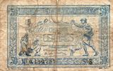 FRANCE : 50 Cts Tresorerie Aux Armées 1917 (fine) - Tesoro