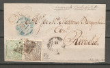Frontal De Carta Con Matasellos De Luarca Y Castropol. - Storia Postale