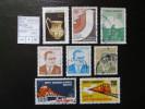 "1971-74  "" 8 Werte ""  Gestempelt   LOT 792 - 1921-... Republik"