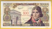 BILLET FRANCAIS - 100 NF Sur 10000 Francs Bonaparte  30.10.1958 TTB+/SUP - 1955-1959 Surchargés En Nouveaux Francs