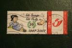Tele Hulp 2007  Duostamps Persoonlijke Postzegel Timbre Personalisé Oblitéré Gestempeld Used Belgie Belgique - België