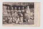 AK Afrika Sierra-Leone SUSU-GIRLS 1902-11-08 Deutsch. Marine Schiffspost Nach Hamburg - Sierra Leone