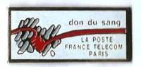 LP33 - LA POSTE FRANCE TELECOM DON DU SANG PARIS - Verso: SM - Postes