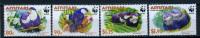 2002 -  AITUTAKI- Catg. Mi.  772/775 - WWF - NH - (CAT20151182265) - Aitutaki