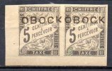 3/ Obock Taxe : N° 9 Neuf XX  Cote : 80,00 € , Disperse Trés Grosse Collection ! - Neufs