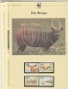 Ghana 1984  WWF / Bongo 4v ** Mnh With 3 Leaflets With Information About The Issue (W519) - W.W.F.