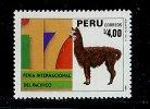 (cl.11 - P.40) Perou **  N°  885 (ref. Michel Au Dos) -  Le Lama - - Peru