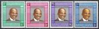 Malawi 1966 Geschichte Republik Persönlichkeiten Politiker Ärzte Staatspräsident Hastings Kamuzu Banda, Mi. 56-9 ** - Malawi (1964-...)