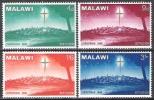 Malawi 1966 Religion Christentum Feiertage Weihnachten Christentum Sterne Bethlehem Städte Stadt, Mi. 60-3 ** - Malawi (1964-...)