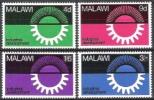 Malawi 1967 Wirtschaft Economy Industrie Industry Entwicklung Developement Sonne Zahnrad Zahnräder, Mi. 72-5 ** - Malawi (1964-...)