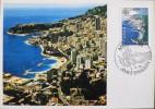 C.P. MONACO 1978 - 1er JOUR D'EMISSION - Monaco Le 02.05.1978 - Très Bon état - Maximum Cards