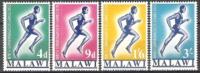 Malawi 1970 Organisationen Sport Commonwealth-Sportwettkämpfe Spiele Leichtathletik Laufen Läufer, Mi. 128-1 ** - Malawi (1964-...)
