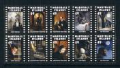 MU1118 Marshall Islands 10 New 0417 2014 Ghost Movie - Marshall