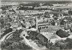 Dampierre -en-Burly (Loiret) - Le Bourg Et La Porte Du Château - Vue Aérienne - RARE (N&B) - Francia