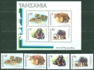 Tanzania 1982 Animals MNH** - Lot. A59 - Tanzanie (1964-...)
