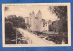 CPA - BARBASTE - Le Pont Sur Le Tracé De L´ancienne Voie Romaine Des Pyrénées à La Garonne , Dite La Ténarèse - France