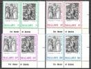 Malawi 1971 Religion Christentum Feiertage Ostern Easter Kunst Kultur Persönlichkeiten Albrecht Dürer, Mi. 161-8 ** - Malawi (1964-...)
