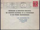 """Lettre Flamme RBV  Rodez 30 -4 1956  """"RODEZ Capitale Touristique Du Rouergue """" - Poststempel (Briefe)"""