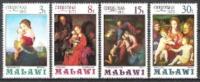 Malawi 1971 Religion Christentum Feiertage Weihnachten Christmas Kunst Kultur Gemälde Raffael Schöngauer, Mi. 174-7 ** - Malawi (1964-...)
