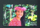 COOK ISLANDS  -  Magnetic Phonecard As Scan - Cook Islands