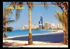 Abu Dhabi / Postcard Ciruclated - Emirats Arabes Unis