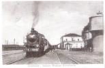 Cartolina 150° ANNIVERSARIO ARRIVO TRENO A PORDENONE - 1915: Interno Stazione - Pordenone