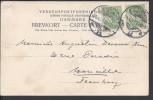 "DANEMARK - 1901 - - CORRESPONDANCE DE KOBENHAVN SUR CARTE POSTALE "" Le Château De Christianborg ""  VERS MARSEILLE - FR - - Briefe U. Dokumente"