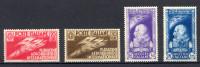 1935 SALONE AERONAUTICO N.384/387 * NUOVI TRACCIA DI LINGUELLA - OCCASIONE - MH BARGAIN - Nuovi