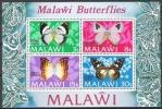 Malawi 1973 Tiere Animals Fauna Schmetterlinge Butterflies Papillion Mariposa Insekten Insects, Bl. 30 ** - Malawi (1964-...)