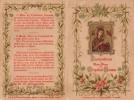 Carte INVOCATIONS A NOTRE-DAME DU PERPETUEL-SECOURS - Propriété Des R.R. P.P. Rédemptoristes - Déposé - Christianisme