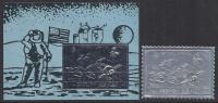 ESPACIO - SHARJAH  1972 - Michel 1063A/B** Precio Cat€22 - Espacio