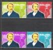 Malawi 1973 Geschichte Persönlichkeiten Entdecker Forscher David Livingstone , Mi. 199-2 ** - Malawi (1964-...)