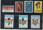 Vélo, Bicyclette, Sport, Cyclisme, Course, Timbres Tous MNH**   (R179) - Cycling