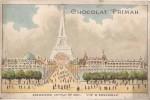 CHROMO CHOCOLAT PRIMAH EXPOSITION UNIVERSELLE DE 1900  VUE D'ENSEMBLE - Altri