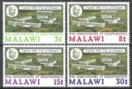 Malawi 1974 Geschichte Unabhängigkeit Städte Stadt Regierungssitz Lilongwe Bauwerke Präsident Banda, Mi. 220-3 ** - Malawi (1964-...)