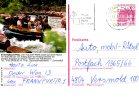 ALLEMAGNE. Carte Pré-timbrée Ayant Circulé En 1988. Rafting. - Rafting