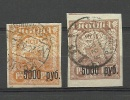 RUSSLAND RUSSIA 1922 Michel 171 - 172 O - Usados