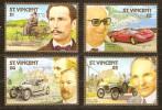 St-Vincent 1987 Yvertn° 1024-27 *** MNH Cote 10 Euro FORGERIES Voitures Autos Cars - St.Vincent (1979-...)