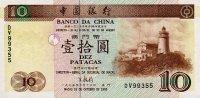 Macau 10 Patacas 1995 Pick 90 UNC - Macao