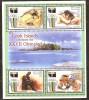 Aitutaki 2000 Yvertn° 581-84 *** MNH Cote 15 Euro Sport Jeux Olympiques Sydney - Aitutaki