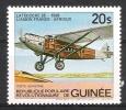 Guinée : N° Yvert  603 * *  -- Avion    (  Latécoère 28  ) . - Avions