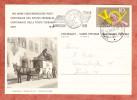 P 213/08 Posthorn 100 Jahre Eidg. Post Abb: Paketzustellung, SoSt Bundesfeier, Automobil Post Nach Zuerich 1949 (27489) - Ganzsachen