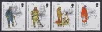 British AntarcticTerritory 1999 Antarctic Clothing 4v ** Mnh (20495) - Ongebruikt