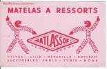 Matlassor, Matelas à Ressorts - Carte Assorbenti