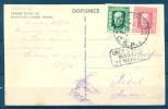 "1926 , CHECOSLOVAQUIA - MADRID , TARJETA POSTAL , MARCA "" ONCE Y MEDIA MAÑANA / 2º REPARTO "" - 1889-1931 Reino: Alfonso XIII"